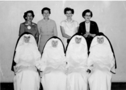 Saints Peter & Paul School Faculty in the Early Days